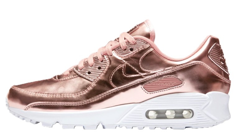 Nike Air Max 90 Rose Gold Liquid Metal thumbnail image