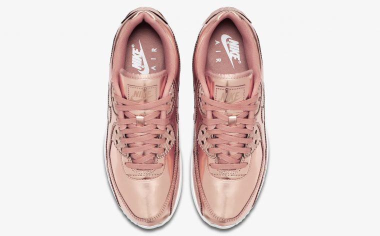 Nike Air Max 90 Rose Gold Liquid Metal laces thumbnail image
