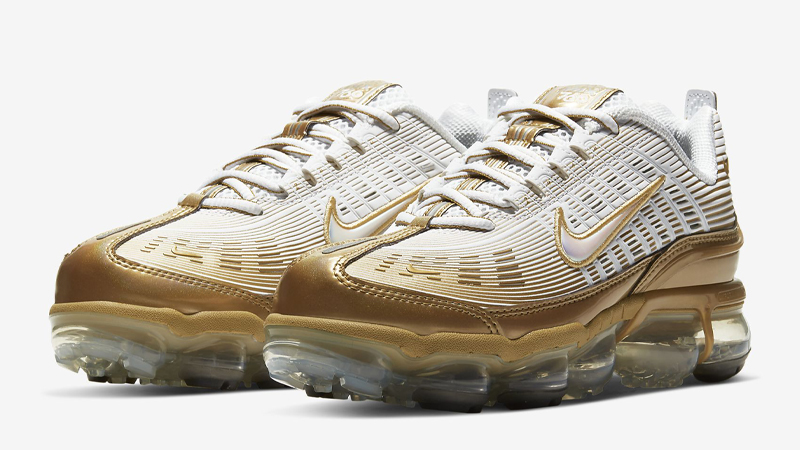 Nike Air VaporMax 360 White Gold Front