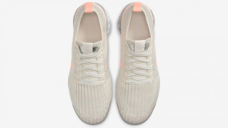 Nike Air VaporMax Flyknit 3 Cream Crimson Tint Middle thumbnail image