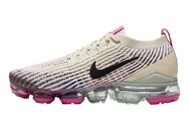 Nike Air VaporMax Flyknit 3 Fossil Fire Pink thumbnail image