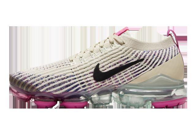 Nike Air VaporMax Flyknit 3 Fossil Fire Pink