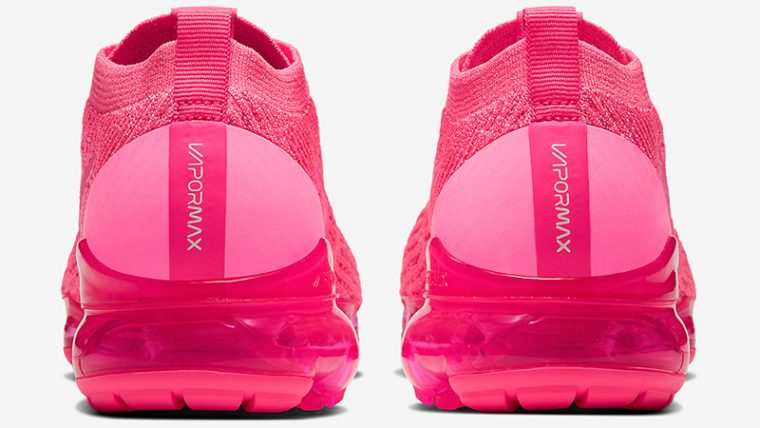 Nike Air VaporMax Flyknit 3 Hot Pink back thumbnail image