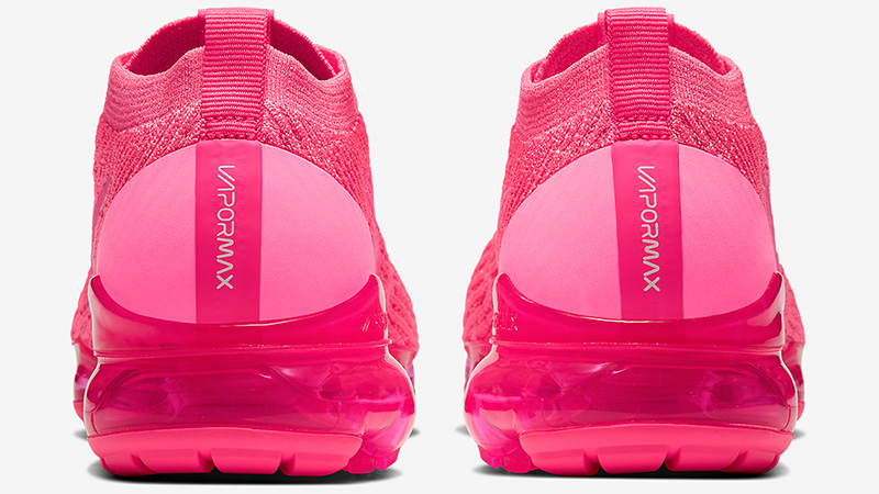 Nike Air VaporMax Flyknit 3 Hot Pink back
