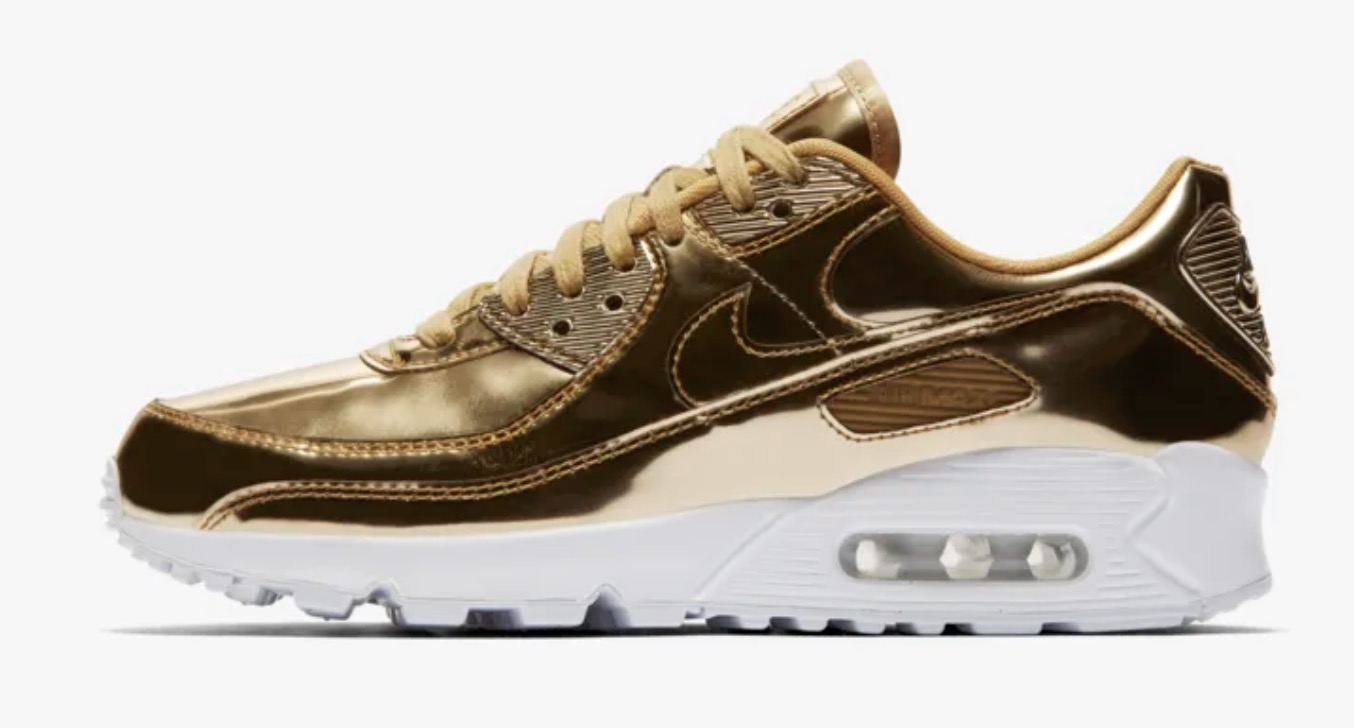Nike Air max 90 Metallic Pack Gold