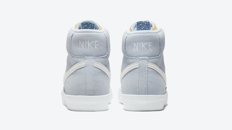Nike Blazer Mid 77 Suede Blue White Back