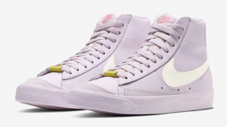 Nike Blazer Mid 77 Violet Digital Pink Front thumbnail image