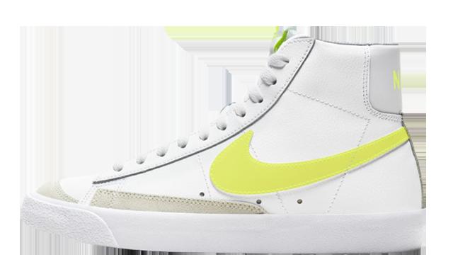 Nike Blazer Mid 77 White Lemon Venom