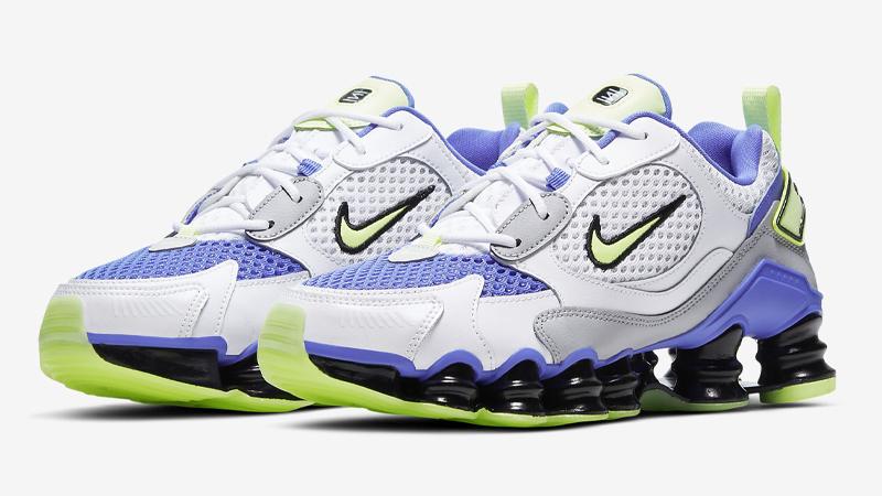 Nike Shox TL Nova White Barely Volt Front