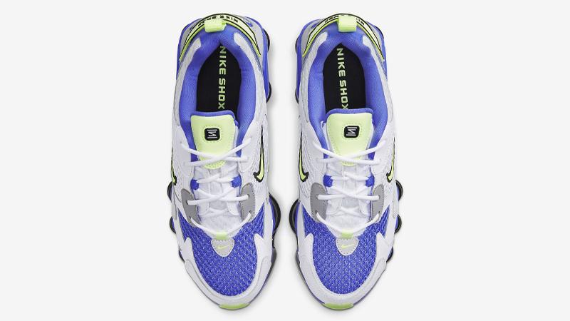 Nike Shox TL Nova White Barely Volt Middle