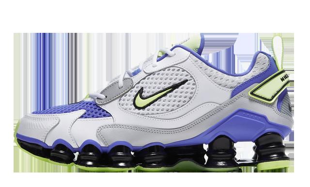 Nike Shox TL Nova White Barely Volt