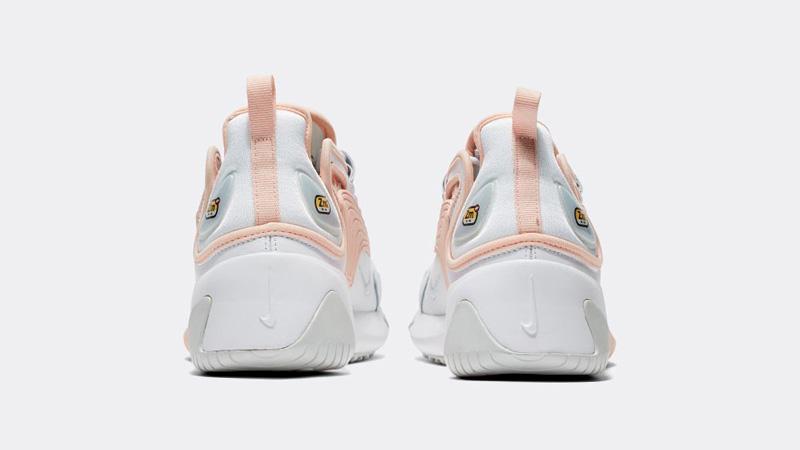 Nike Zoom 2K White Washed Coral Back