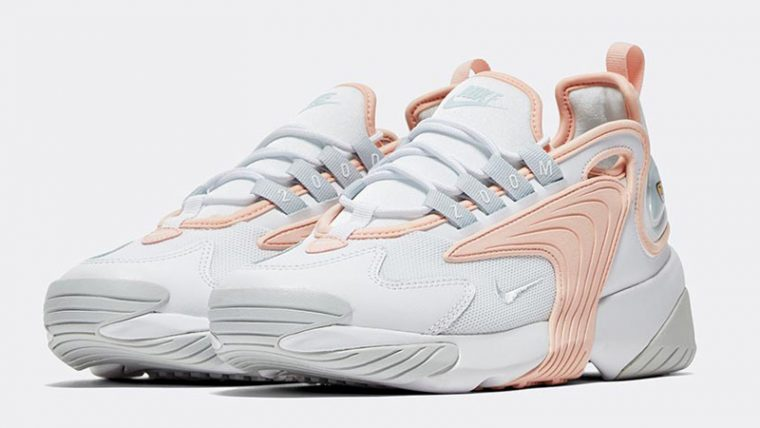 Nike Zoom 2K White Washed Coral Front thumbnail image