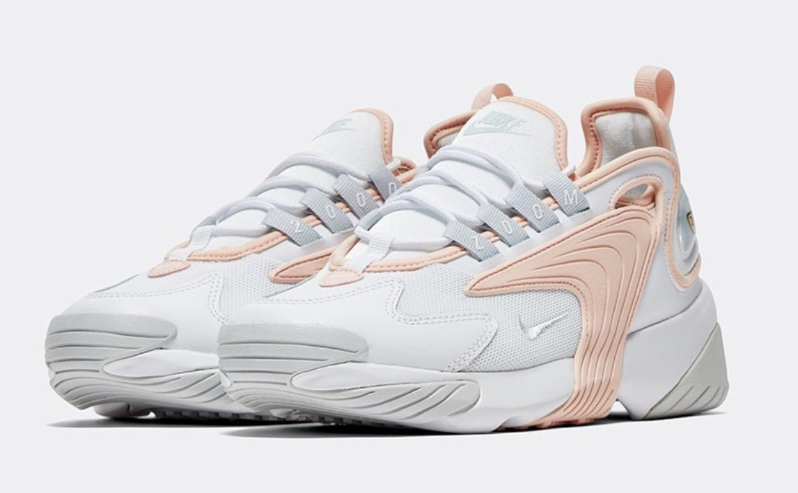 Nike Zoom 2K White Washed Coral front