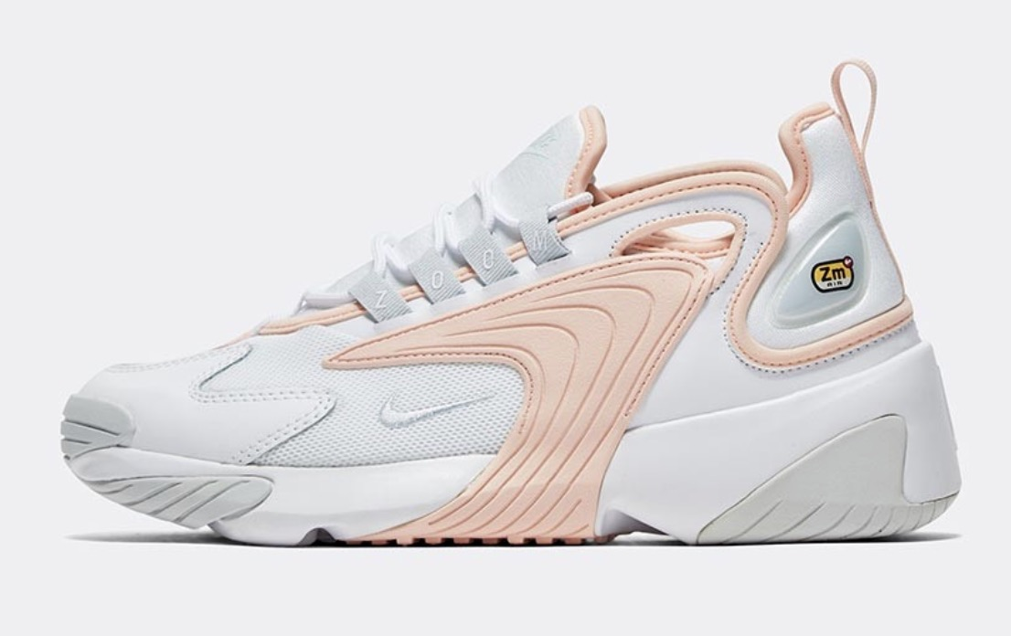 Nike Zoom 2K White Washed Coral side