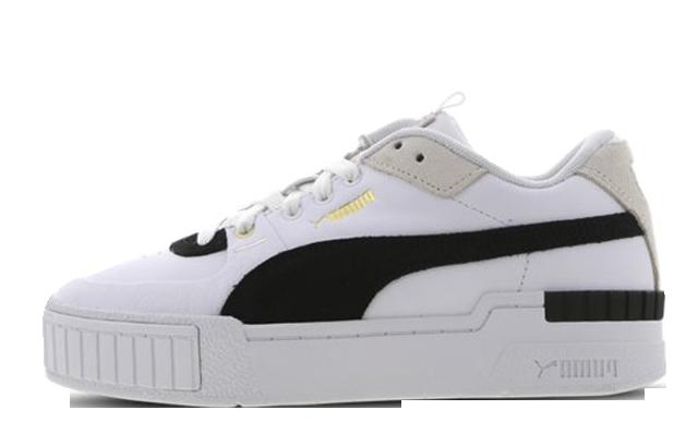 PUMA Cali Sport White Black 373080-01