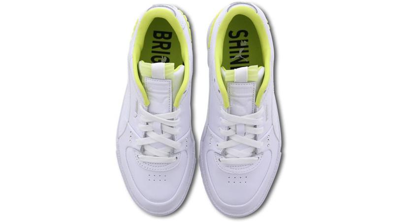 PUMA Cali Sport White Sunny Lime Middle