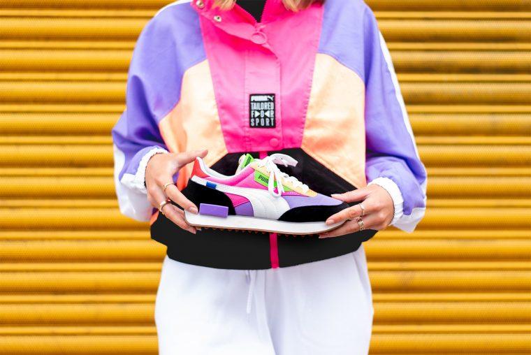 PUMA Future Rider Play On Luminous Pink 6 jacket