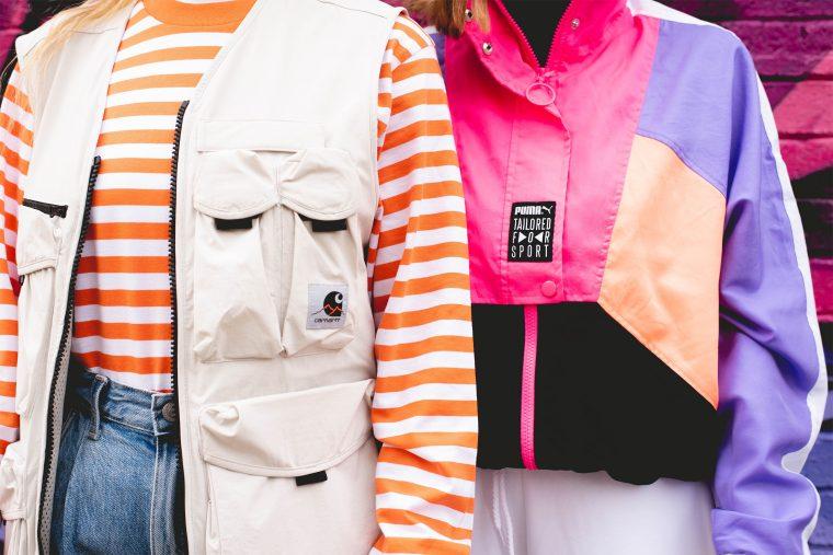 PUMA Future Rider Play On Pink Orange Style jackets
