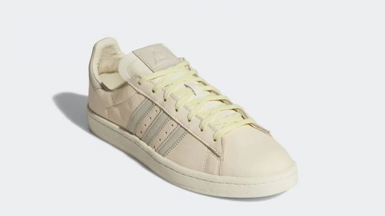 Pharrell Williams x adidas Campus Ecru Tint Front thumbnail image
