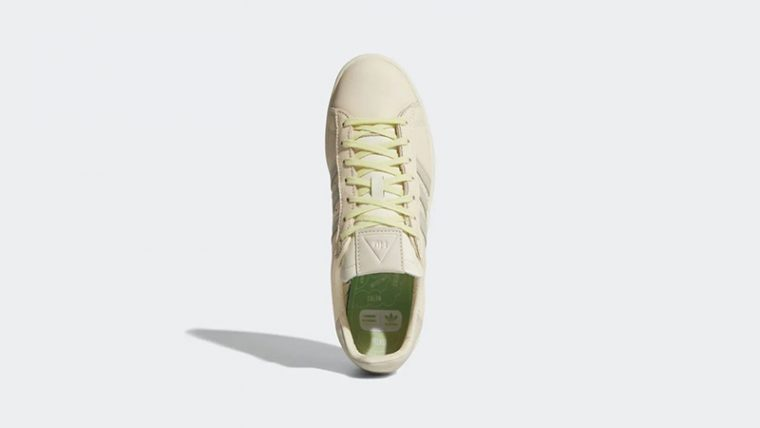 Pharrell Williams x adidas Campus Ecru Tint Middle thumbnail image