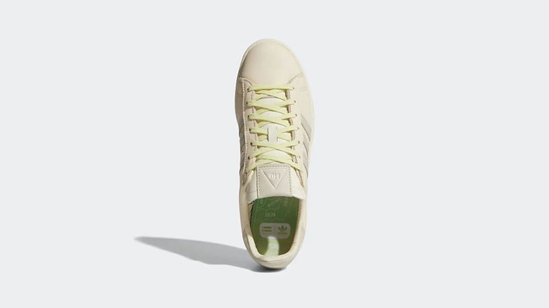 Pharrell Williams x adidas Campus Ecru Tint Middle
