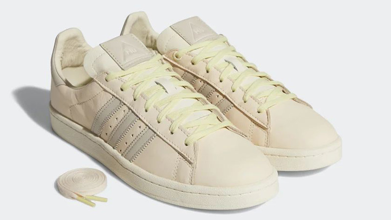 Pharrell Williams x adidas Campus Ecru Tint Side
