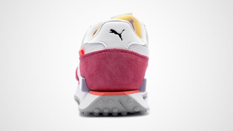 Puma Future Rider Stream On White Pink Back