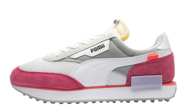 Puma Future Rider Stream On White Pink