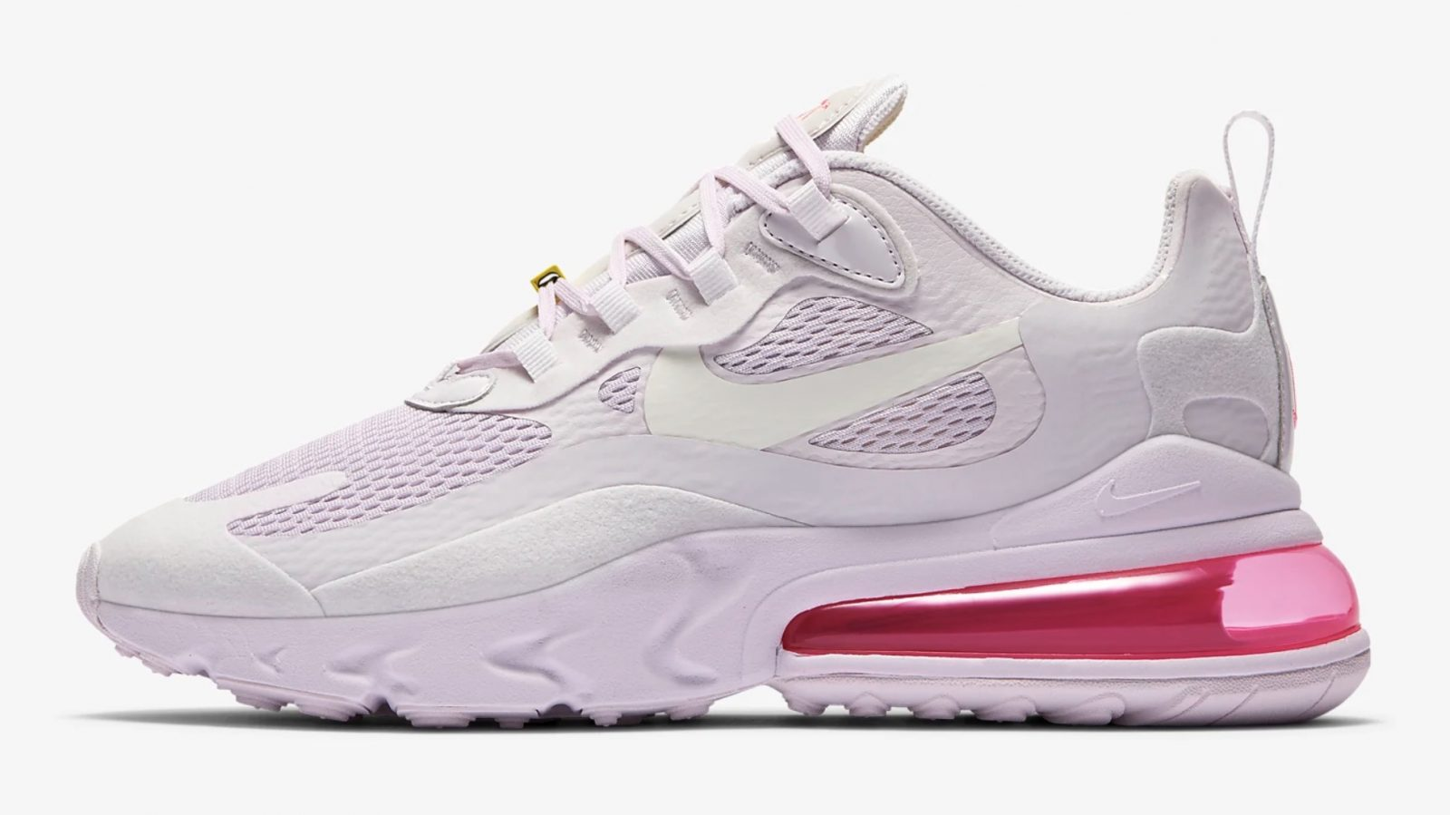 This 'Light Violet' Nike Air Max 270 React Is A Dream In Pastels left