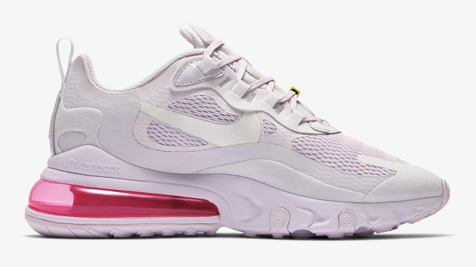 This 'Light Violet' Nike Air Max 270 React Is A Dream In Pastels right