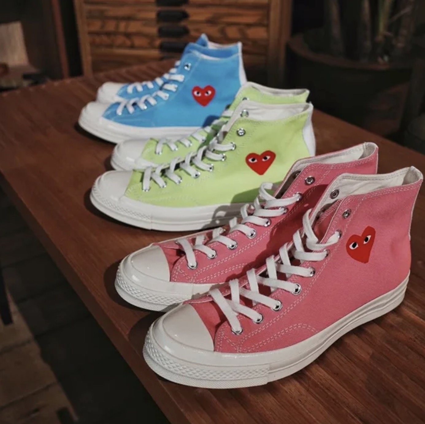 Three New Comme des Garcons Play x Converse Chuck Taylors Have Just Been Unveiled 10 3