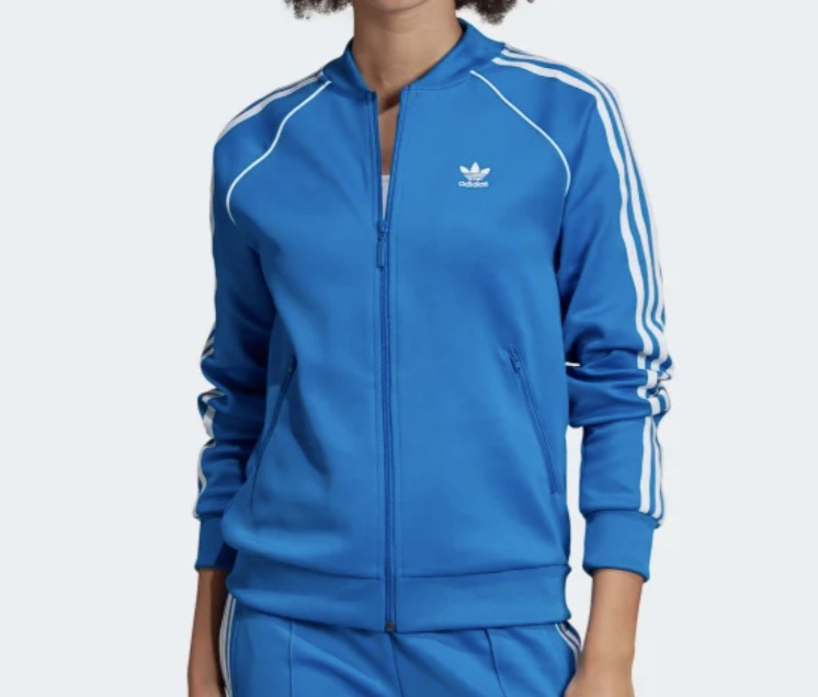 Tracksuit Top Blue White