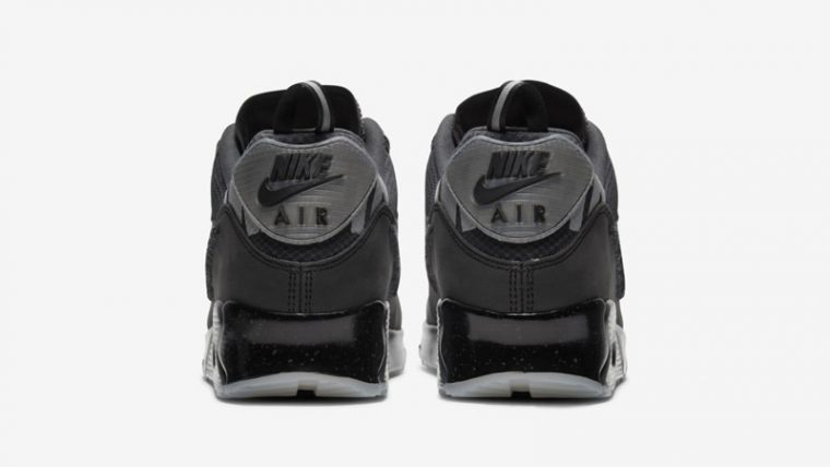 UNDEFEATED x Nike Air Max 90 Black Back thumbnail image