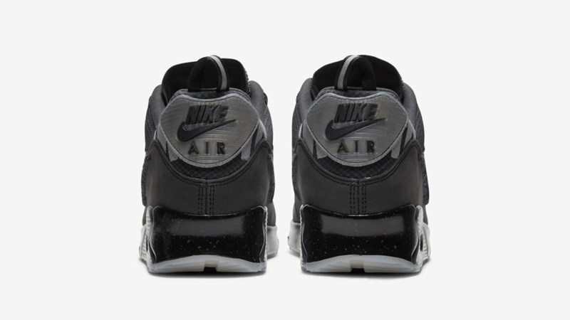 UNDEFEATED x Nike Air Max 90 Black Back