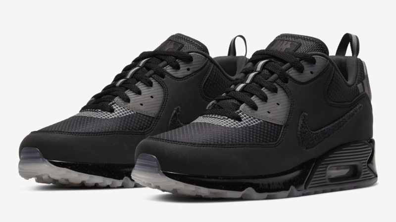 UNDEFEATED x Nike Air Max 90 Black Front