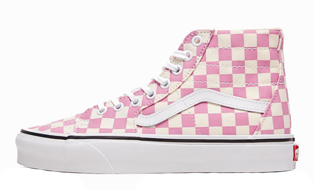 Vans Checkerboard Sk8-Hi Tapered Pink