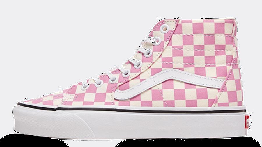 Vans Checkerboard Sk8-Hi Tapered Pink
