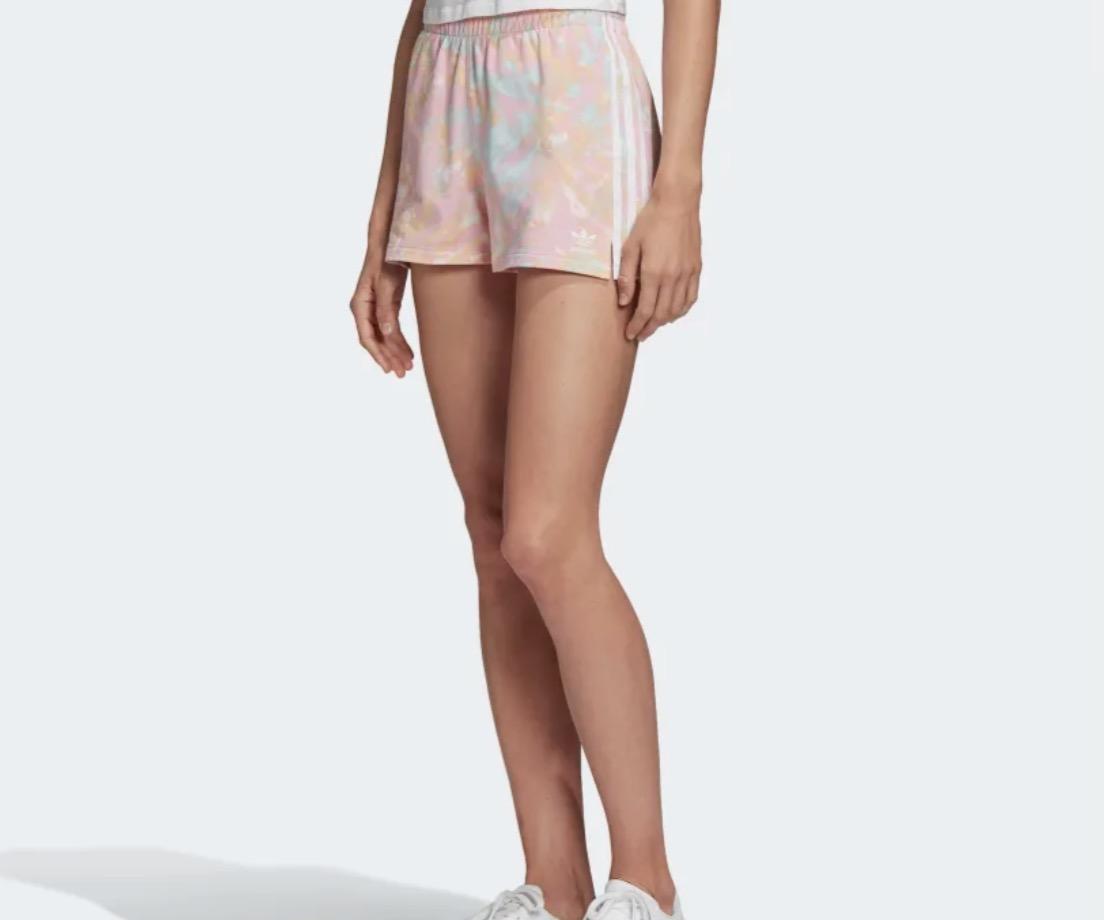 adidas 3-Stripe Short True Pink White