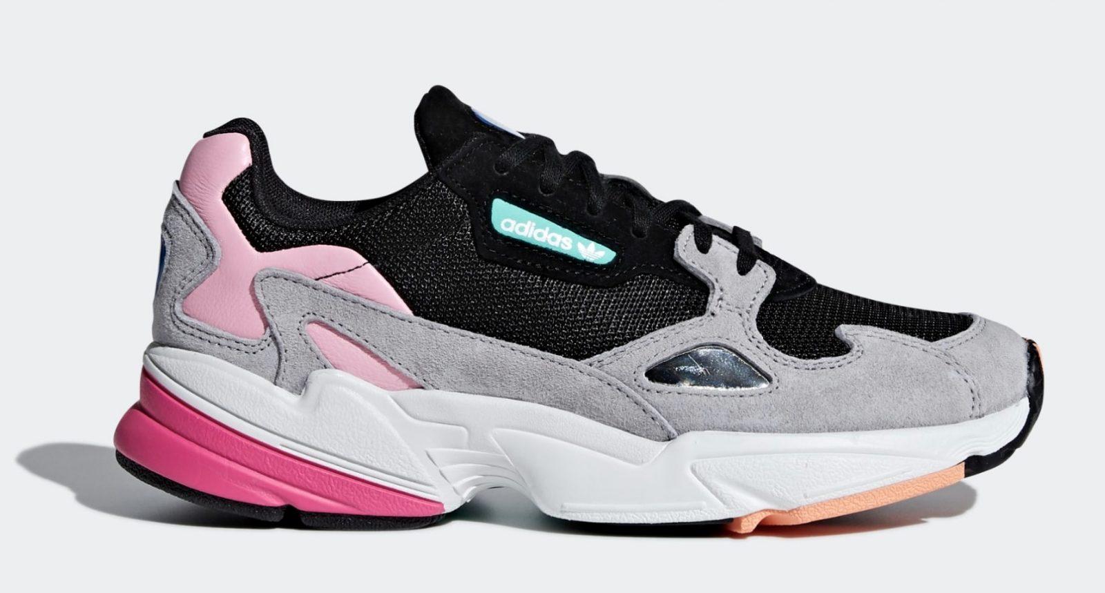 adidas Falcon Pink Grey