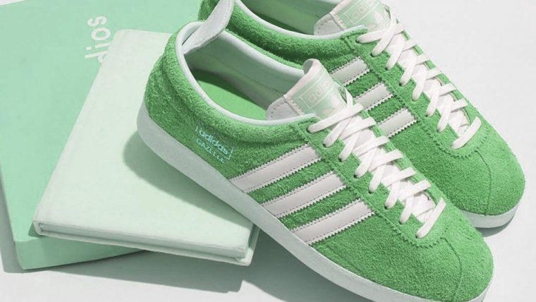 adidas Gazelle Green Vintage