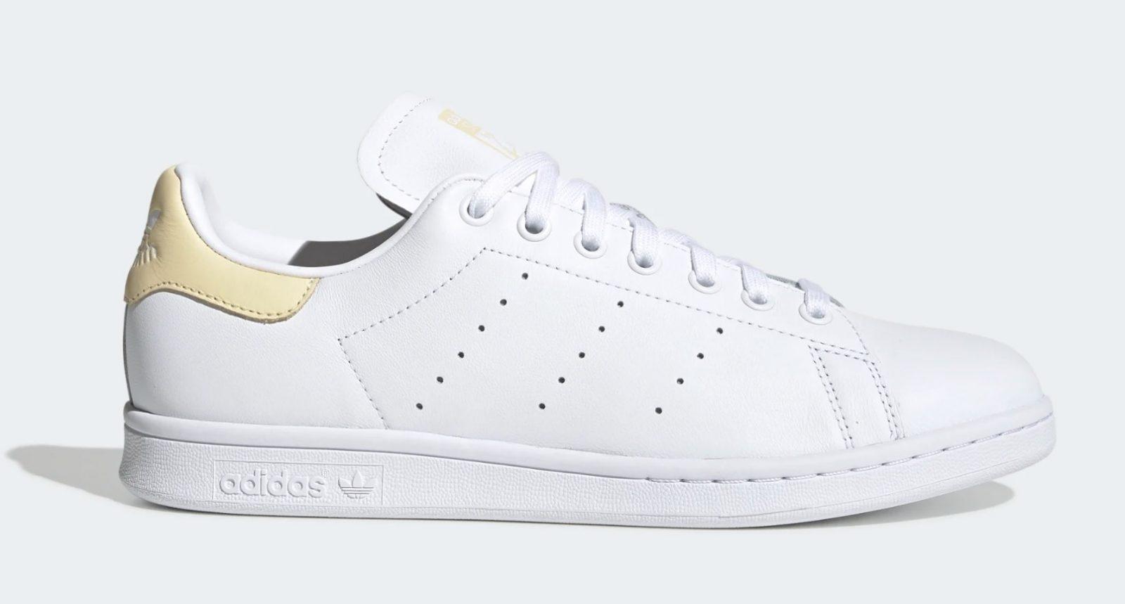 adidas Stan Smith White Yellow