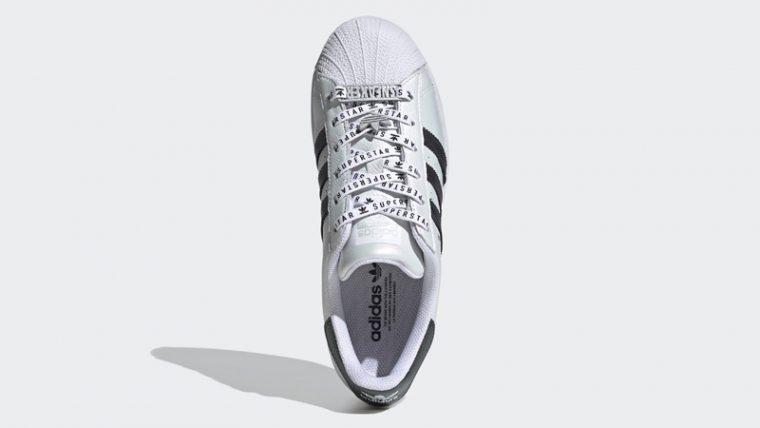 adidas Superstar Cloud White Gold Metallic Middle thumbnail image