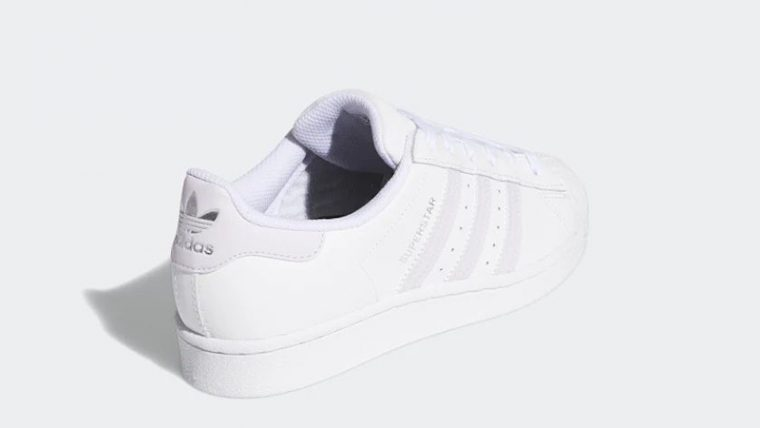 adidas Superstar White Purple FV3374 back thumbnail image