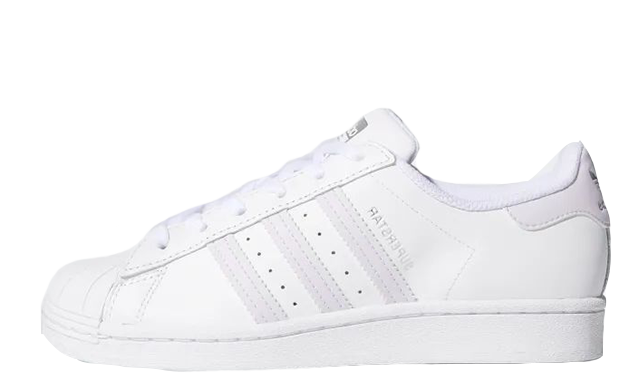 adidas Superstar White Purple FV3374