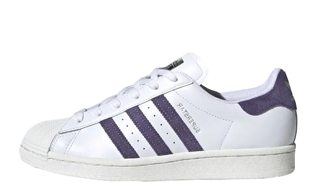 adidas Superstar White Tech Purple FV3373