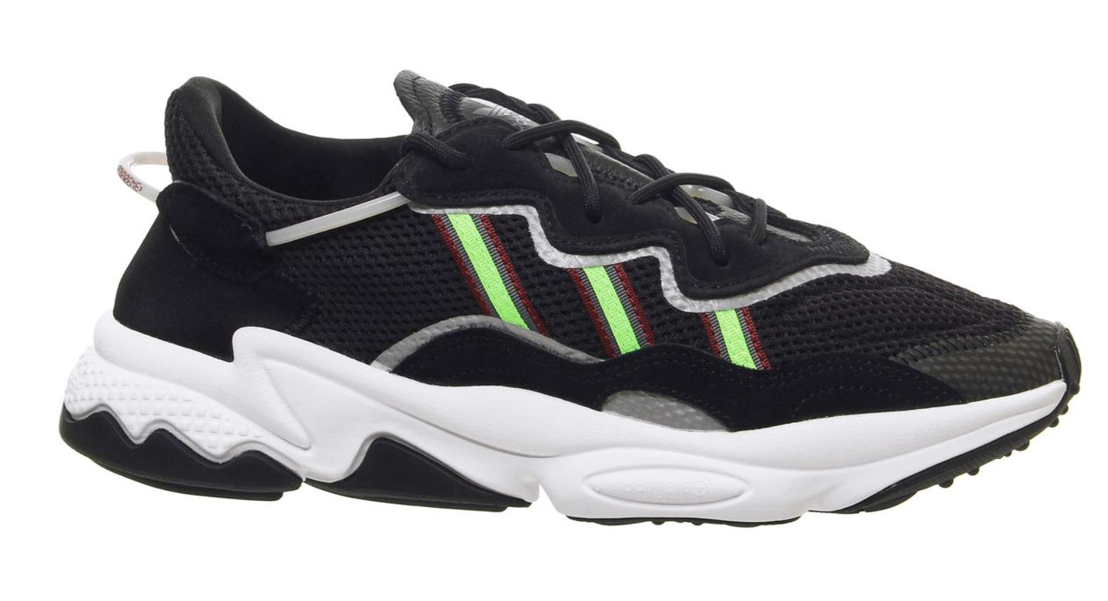 adidas ozweego white black green