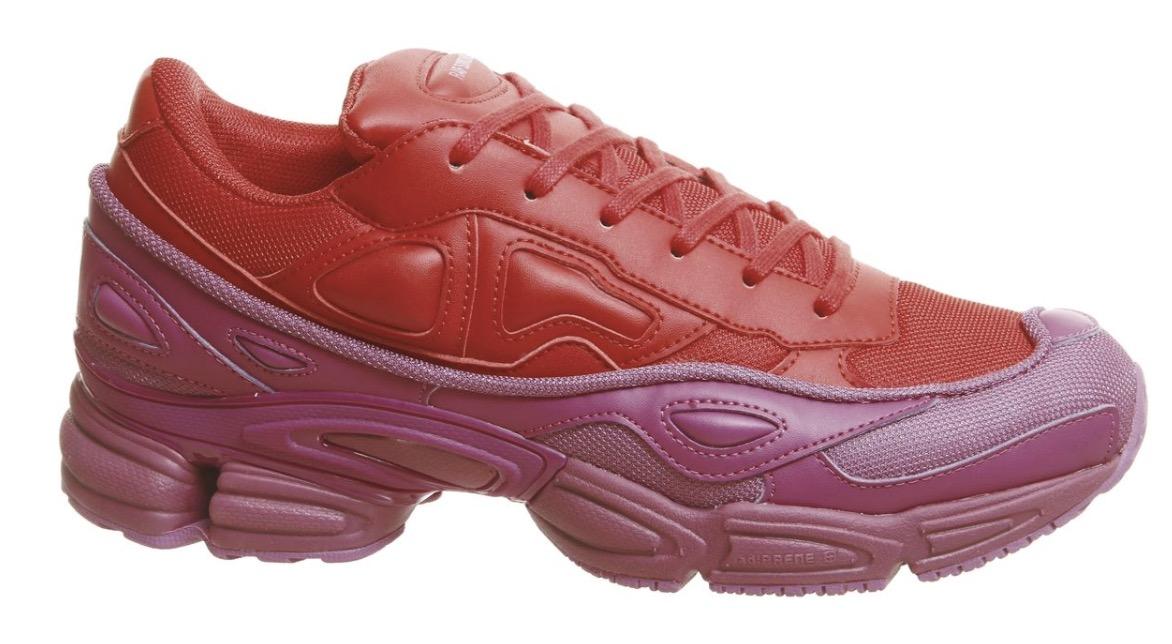 adidas raf simons ozweego red pink