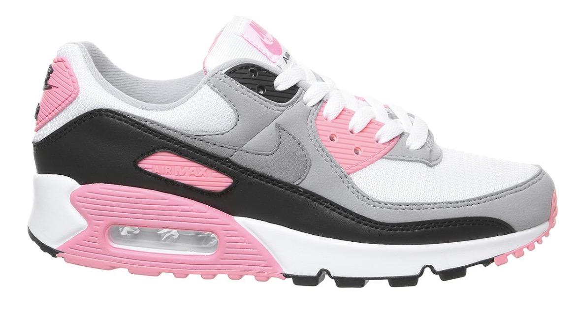 air max 90 pink grey