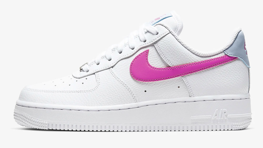 Nike Air Force 1 Pink Hydrogen Blue